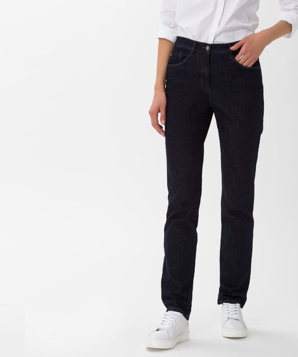 factory outlet 100% top quality official images Style Mary, clean dark blue - Five-Pocket-Jeans mit ...